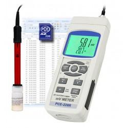 PCE-228-R Redox potenciál és hőmérséklet mérő