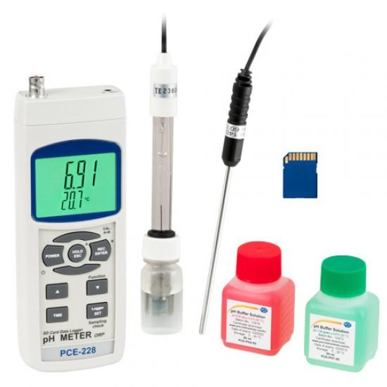 PCE-228-Kit pH mérő