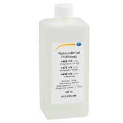 468 mV redox-oldat, 500 ml (Pt-Ag / AgCl ellen 3 mol KCl-ban)