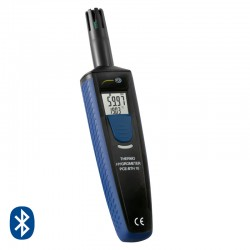 Bluetoothos hőmérő-higrométer PCE-BTH 10