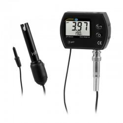 pH mérő PCE-PHM 12 hőmérsékletkijlzővel