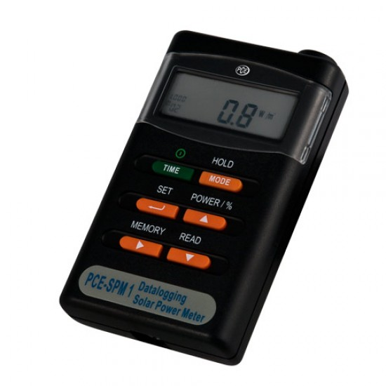 PCE-SPM 1 napenergia mérő