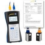 PCE-TDS 100HS Ultrahangos átfolyásmérő