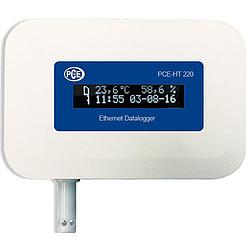 PCE-HT 420 Adatrögzítő ethernet csatlakozóval