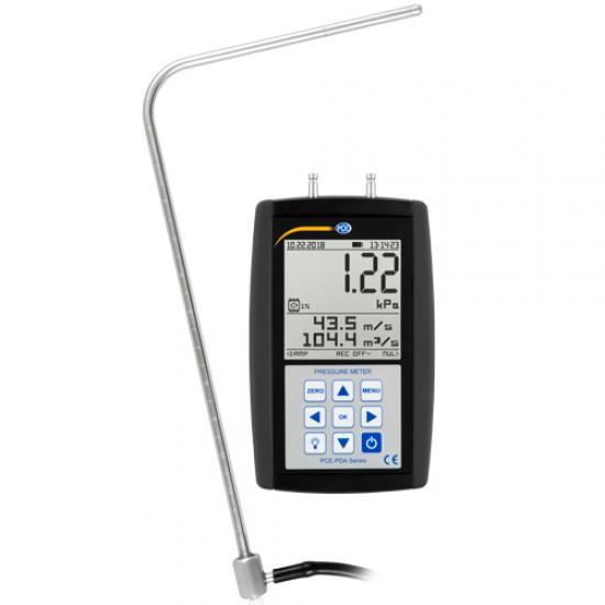 PCE-PDA 10L Nyomásmérő, adatrögzítő