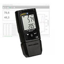 PCE-HT 72 Hőmérséklet / rel. páratartalom-adatgyűjtő kijelzővel és PDF-reportal