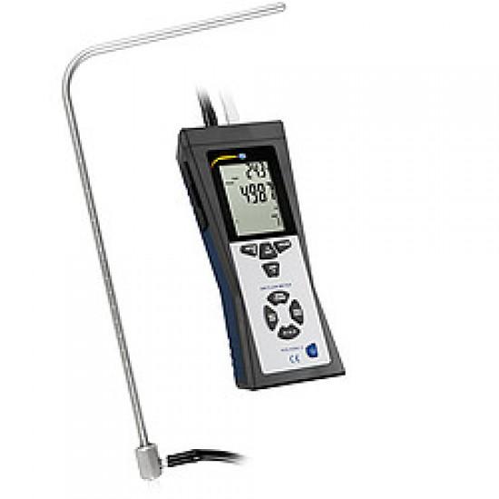 PCE-HVAC 2 Nyomás / áramlásmérő