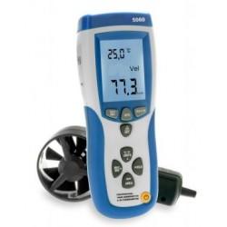 PKT-5060 Légsebességmérő infra hőmérővel