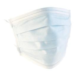 Magyar gyártású orvosi szájmaszk 3 rétegű fehér 50db/csomag
