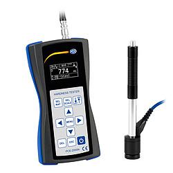 PCE-2000N hordozható keménységmérő, kalibrációs tanúsítvánnyal