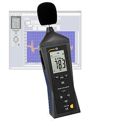 PCE-322 A Hangerősség mérő