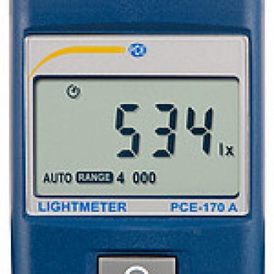 PCE-170 A Fénymérő