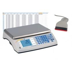 PCE-TB 30C Számláló mérleg max. 30 kg / 1 g felbontás