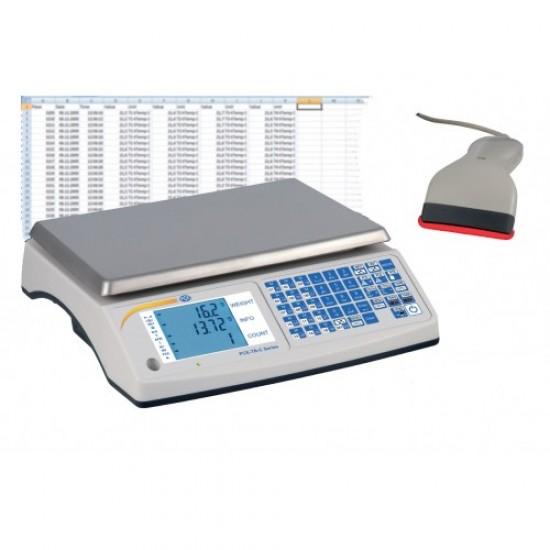 Számláló mérleg PCE-TB 15 C max. 15 kg/felbontás 0,5 g