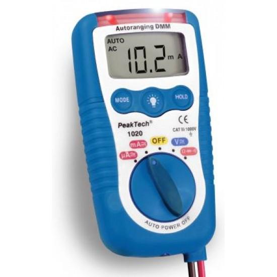 PKT-1020: 3 az 1-ben Elektromos teszter
