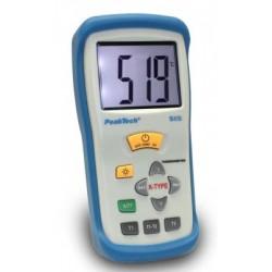 PKT-5115 Digitális hőmérő ~ 2 csatornás ~ 3 1/2-jegyű ~ -50 ... +1300°C