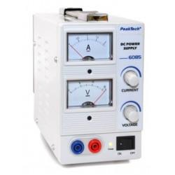 PKT-6085 DC tápegység 0-15 V ~ / 0-2 A DC analóg