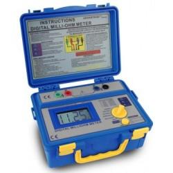 PKT-1125 Digitális milliohm mérő ~ 3 1/2-számjegyű