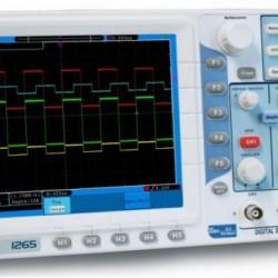 PKT-1265 NEW 30 MHz 2 csatornás ~ 250 MSA / s Digitális tárolós oszcilloszkóp