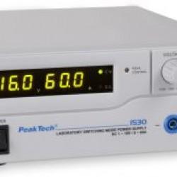PKT-1530 Labor tápegység DC 1 - 16 V / 0 - 60 A