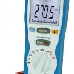 PKT-2705 Digitális milliohm mérő 3 ¾ jegyű 400 µΩ/4/40/ Ω