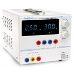 PKT-6035 D Laboratóriumi tápegység ~ 0-30 V / 0 - 2,5 DC ~ 5/12 V / 0,5 A rögzített