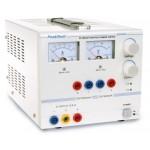 PKT-6040 A Laboratóriumi tápegység ~ 0-30 V / 0 - 2,5 DC ~ 5/12 V / 0,5 A rögzített