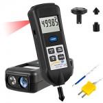 Kézi fordulatszámmérő / stroboszkóp PCE-T 260