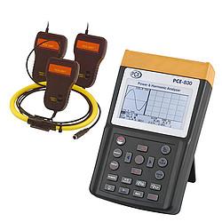 PCE-830-3 Hálózat analizátor