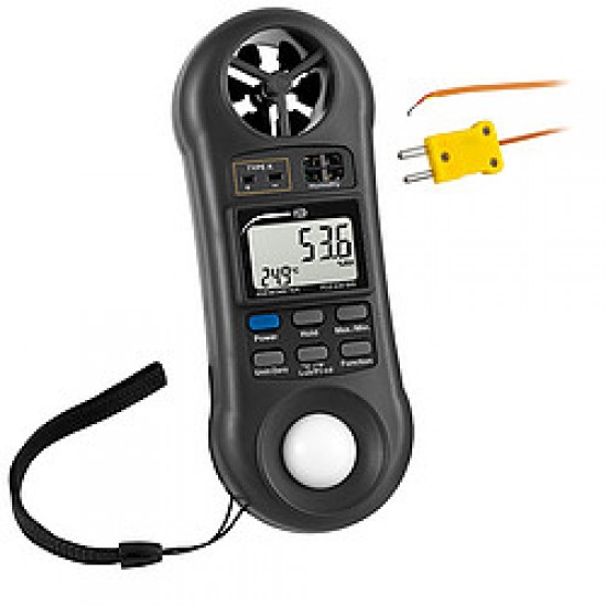 PCE-EM 888 Multifunkciós mérőműszer