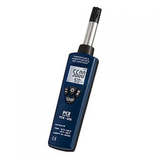 PCE-555 Nedvességmérő