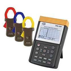PCE-830-2 Hálózat analizátor