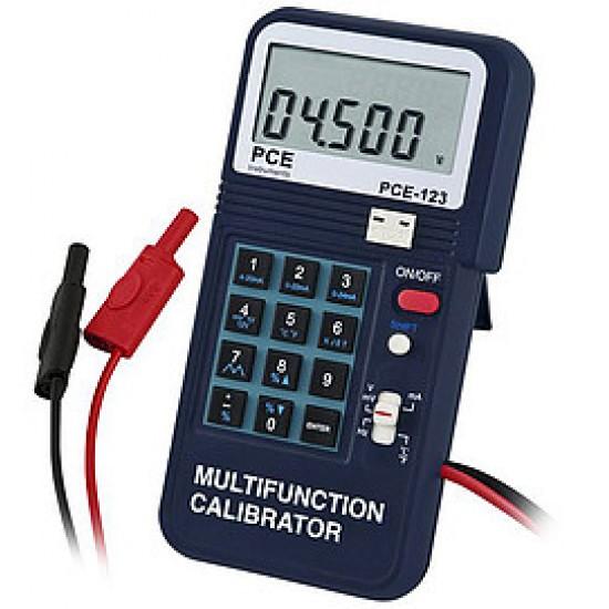 PCE-123 Folyamat kalibrátor, értékadó