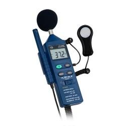 PCE-EM 882 4 az 1-ben multifunkciós környezeti mérőkészülék
