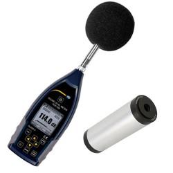Hangerősségmérő kalibrálással PCE-428-kit