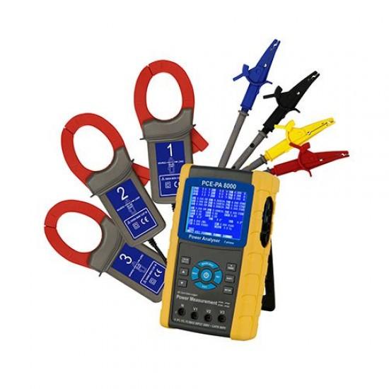 PCE-PA 8000 Teljesítménymérő