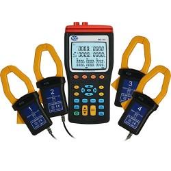 PCE-360 3 fázisú teljesítmény és fogyasztásmérő adatrögzítővel, PC csatlakozóval és szoftverrel