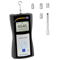 PCE-DFG 500 Digitális erőmérő húzó- és nyomóerő mérésére 500N-ig