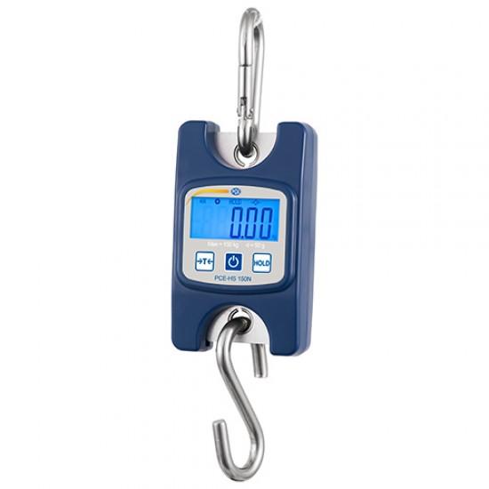 PCE-HS 150N digitális függőmérleg 150 kg-ig
