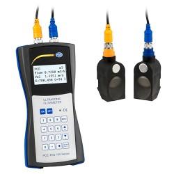 PCE-TDS 100H Ultrahangos átfolyásmérő homogén folyadékokhoz