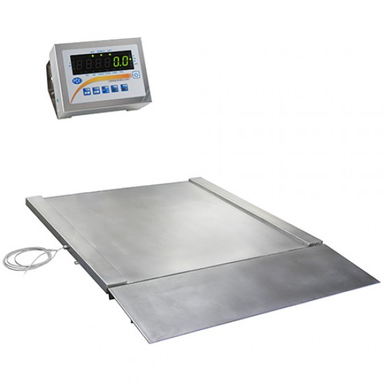 PCE-SD 300 SST Hitelesített mérleg nemesacélból 300 kg-ig