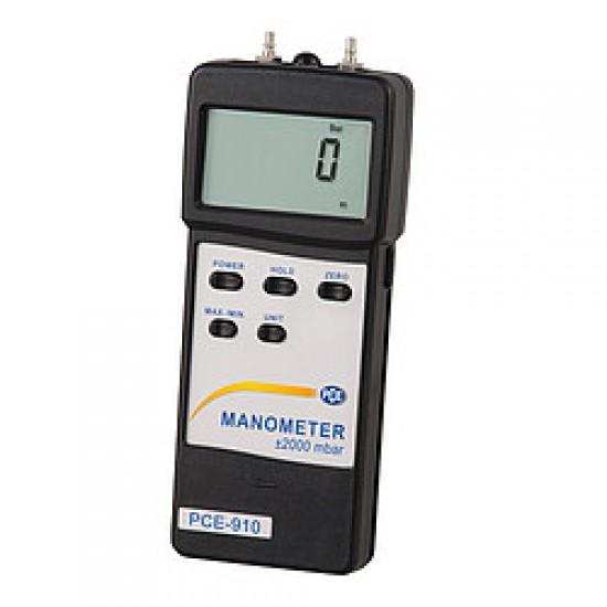PCE-917 Levegő/folyadék/nyomásmérő