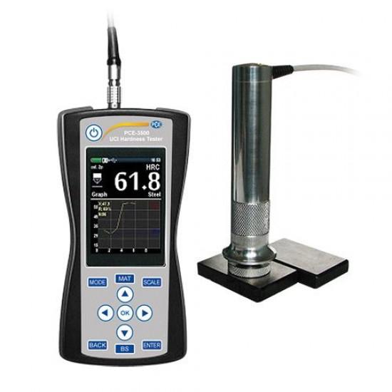 PCE-3500 Hordozható keménységmérő