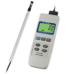 PCE 009 termo szélsebességmérő