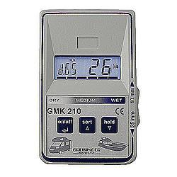 GMK 210 Nedvességmérő gépjárművekhez