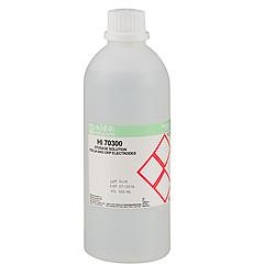 HI 70300L Tartósító oldat pH elektródákhoz 500 ml üvegben