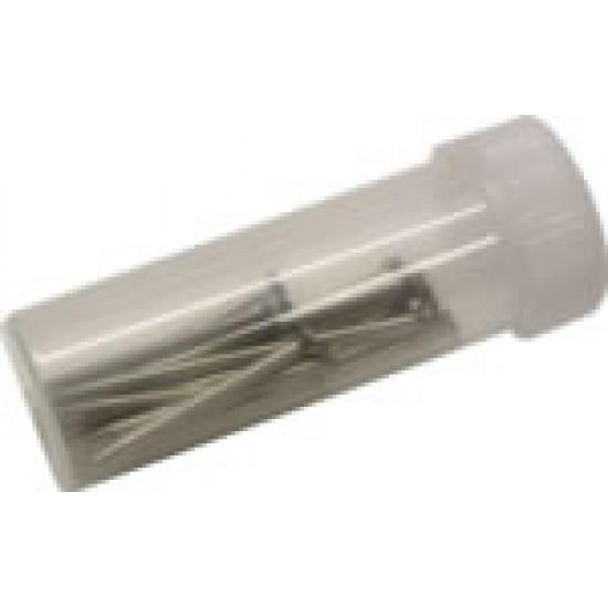 20 db-os tartalék mérőcsúcs-szett, szigetelésmentes, 40 mm hosszú
