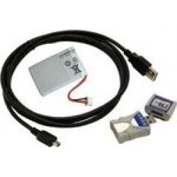 LogMemorizer mérési érték feljegyző és kiértékelő szoftver USB-sticken, csatlakozókábellel PC-hez Akkus verzió