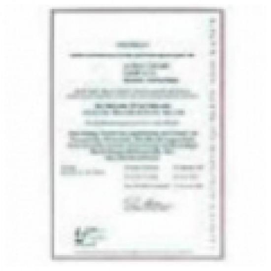 CAL-SH5-Z Kalibrálási bizonylat PCE-SH 10/50 ( húzó )