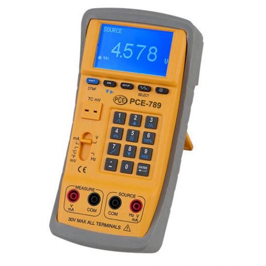 PCE-789  Multifunkciós kalibrátor/ process kalibrátor